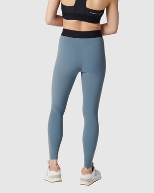 Tully Lou Compression Active Pant Summer Grey - Compression Bottoms (Grey)