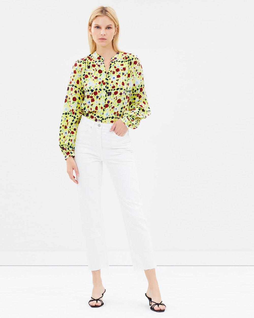 b77bc1a75cf1c Cornelia Silk Shirt by Equipment Online