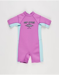 Rip Curl - Omega 1.5mm Short Sleeve Spring Wetsuit - Kids