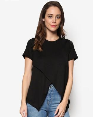 BoyFromBlighty – BoyFromBlighty Knit Wear Essentials – Tops (Black)