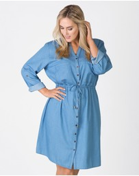 Love Your Wardrobe - Chambray Shirt Dress