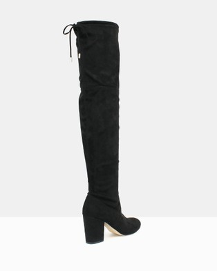 Betts - Bold 2 Over The Knee Boots Mid-low heels (Black) Over-The-Knee