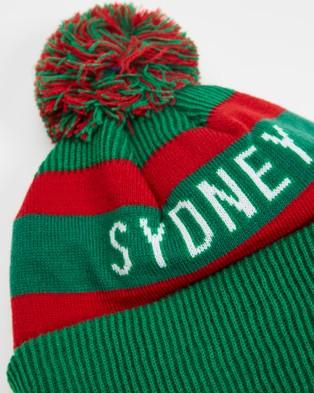 New Era Medium Knit South Sydney Rabbitohs Beanie Headwear Green