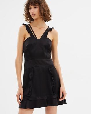 CAMILLA AND MARC – Sentry Mini Dress Black