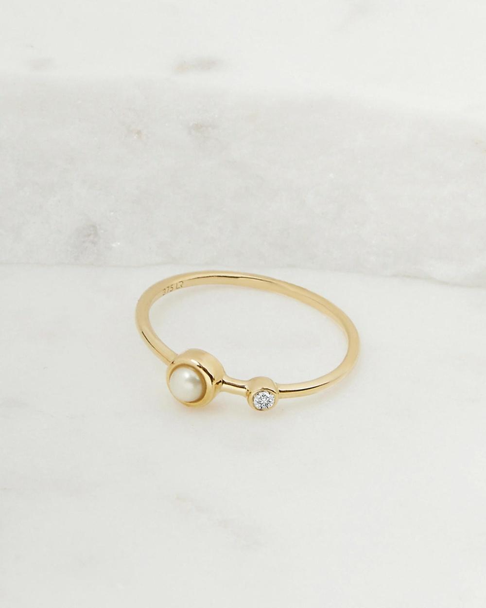 Luna Rae Solid Gold Dara Ring Jewellery Gold