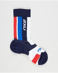 2XU - Vectr Light Cushion Crew Socks - Unisex