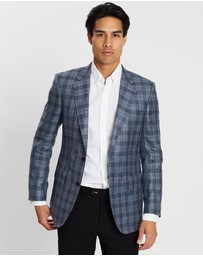 Gieves and Hawkes - Formal Plaid Blazer