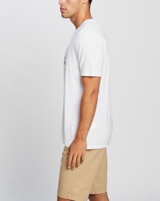 HUGO Logo Print T Shirt Clothing 100 White T-Shirt