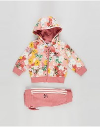 adidas Originals - Hoodie Set Full Zip - Babies-Kids