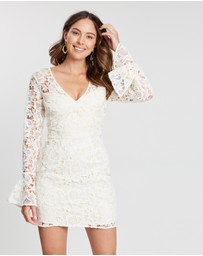 Cooper St - Hinterland Bell Sleeve Lace Mini Dress