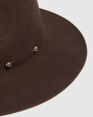 Kate & Confusion Rogue Fedora - Hats (Chocolate)