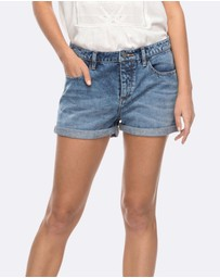 Roxy - Womens Cosy Moment Denim Short
