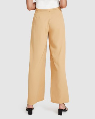 Alice In The Eve Winnie Wide Leg Pants - Pants (NATURAL)