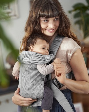 BabyBjorn Baby Carrier Mini - All Baby Carriers (Grey)