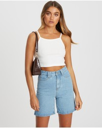 Calli - Daniel Denim Bermuda Shorts
