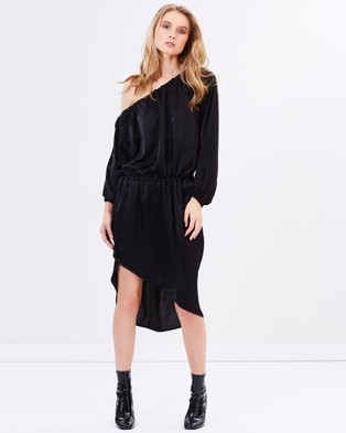 Third Form – Free Flow Dress – Dresses (Black)