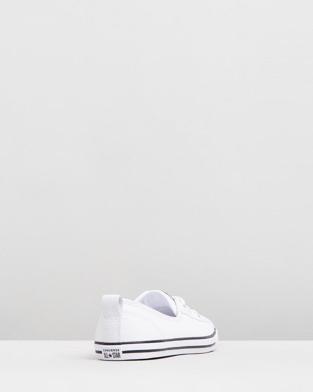 cf8d48b6a6de Converse Chuck Taylor All Star Ballet Lace White Sneaker ✓ T Shirt ...