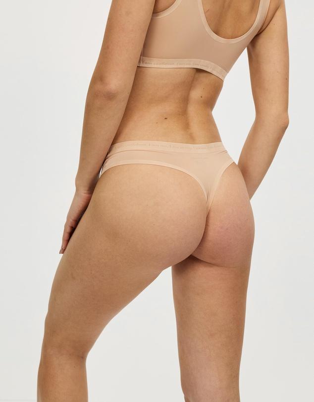 Women Ultimate Stretch Thong Briefs