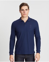 Kent and Curwen - Cotton Pique Long-Sleeve Polo