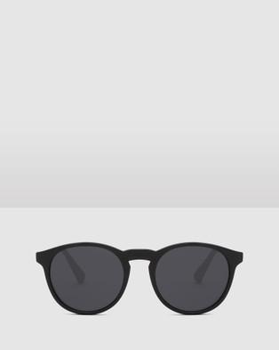 Hawkers Co Carbon Black Dark BEL AIR - Sunglasses (Black)
