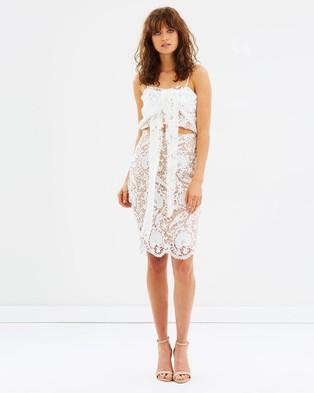 DELPHINE – Lady Sovereign Dress White