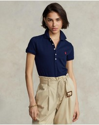 Polo Ralph Lauren - Skinny Fit Stretch Mesh Polo