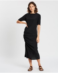 Matin - Ruched Skim Dress