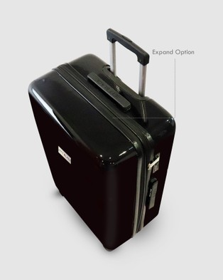 JETT BLACK My JB Series Medium Suitcase - Travel and Luggage (Black)