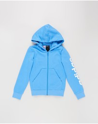 adidas Performance - Linear Full Zip Hoodie - Teens