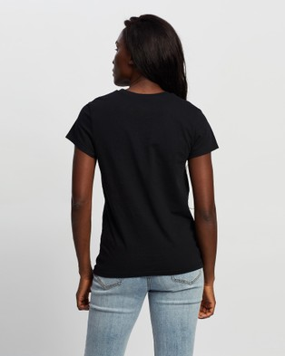 Volcom - Stone Blanks Short Sleeve Tee - T-Shirts & Singlets (Black) Stone Blanks Short Sleeve Tee