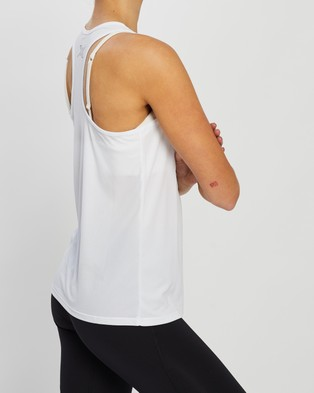 2XU XVENT G2 Singlet - Muscle Tops (White & Silver Reflective)