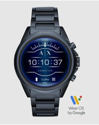Armani Exchange - Blue Smartwatch