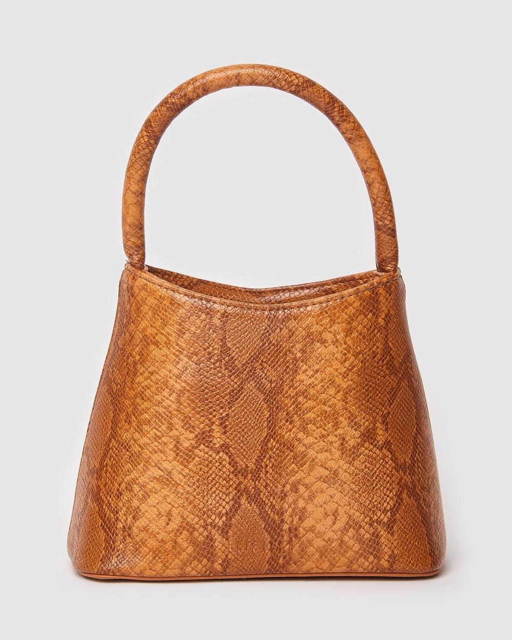 Brie Leon The Mini Chloe Bag Handbags Orange Australia