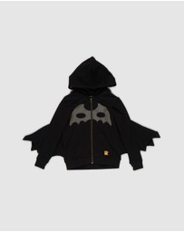 Rock Your Kid - Masked Crusader Batwing Hoodie - Kids