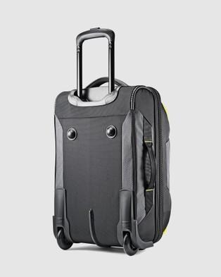 High Sierra Dells Canyon 56cm Carry On Wheeled Duffle - Duffle Bags (Mercury & Yellow)