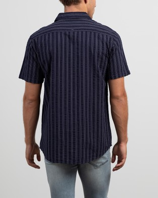 St Goliath Costello Short Sleeve Shirt - Casual shirts (Navy)