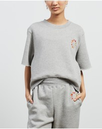 Simon Miller - Clio Oversized Cropped Sweat