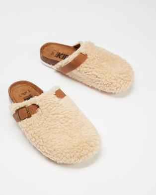 Cotton On Kids Theo Clog Sandals   Kids - Clogs (Dark Vanilla)