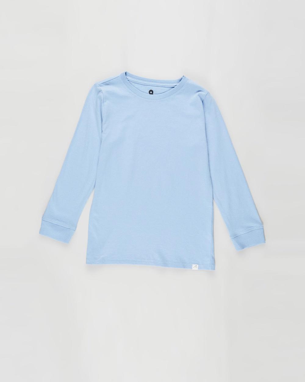 Cotton On Kids - Core Long Sleeve Tee   Kids - T-Shirts & Singlets (Dusk Blue) Core Long Sleeve Tee - Kids