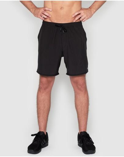 Dk Active Sandy Shorts Black/grey