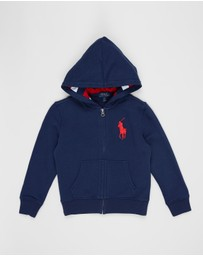 Polo Ralph Lauren - Full-Zip Terry Hoodie - Kids