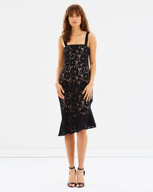 Staple the Label – Marsielle Lace Dress Black