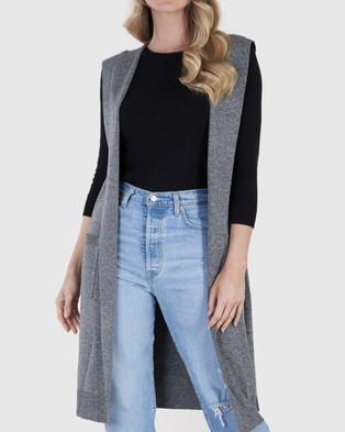Amelius Valiant Vest - Coats & Jackets (Grey Marle)