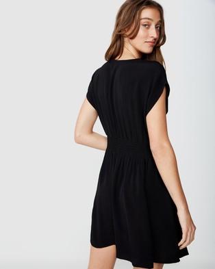 Cotton On Woven Ultimate Tea Dress - Dresses (Black)
