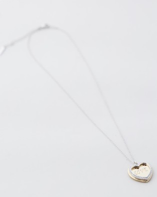 Mestige Covered in Love Necklace with Swarovski Crystals - Jewellery (Dual)