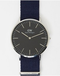 Daniel Wellington - Bayswater Silver 40mm