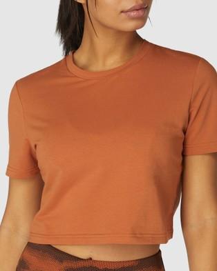 L'urv Game Changer Tee - T-Shirts & Singlets (Orange)