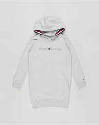Tommy Hilfiger - Essential Tommy Hoodie LS Dress - Teens