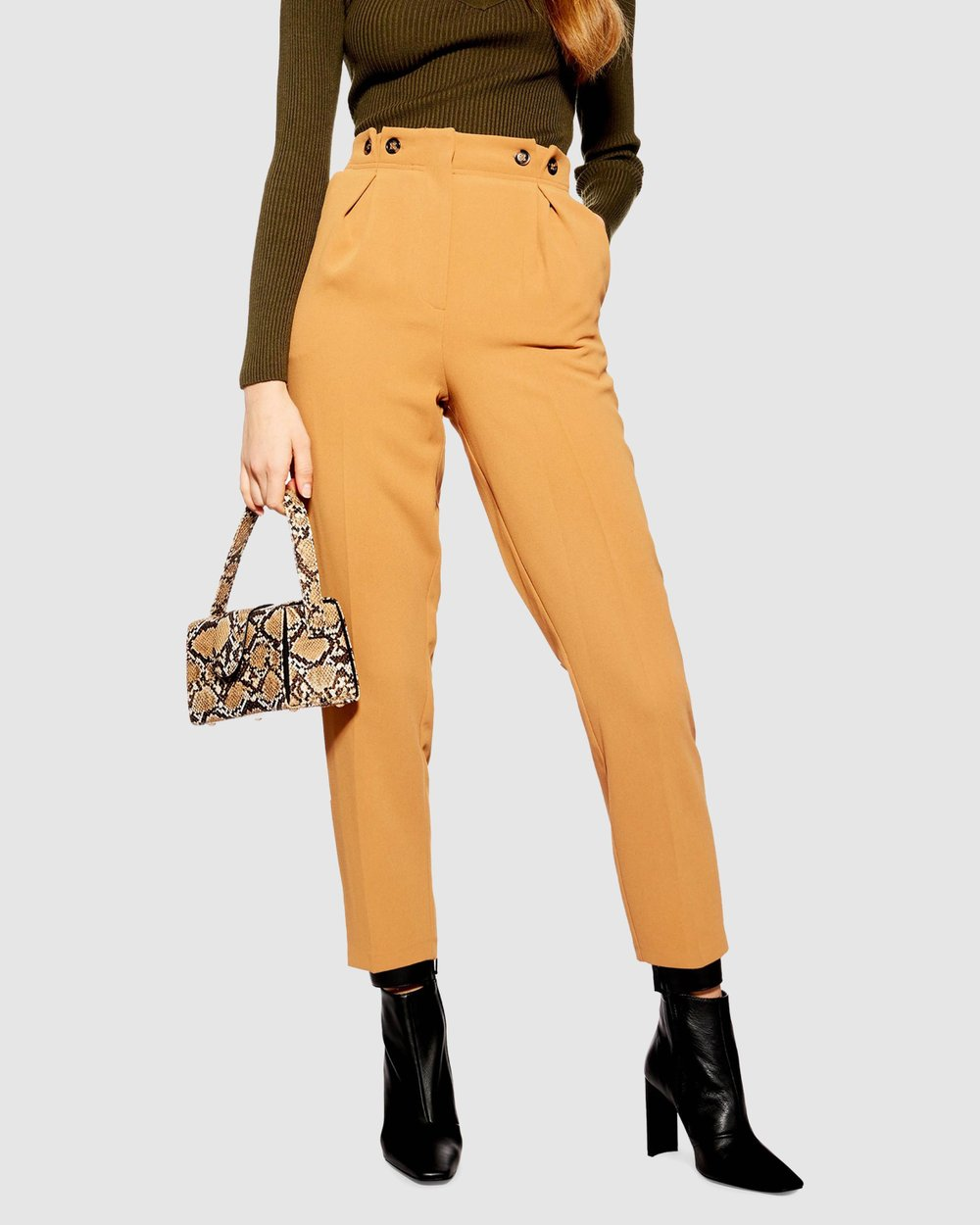 ac631618ede81c Button Peg Trousers by TOPSHOP Online | THE ICONIC | Australia