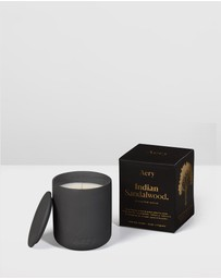 Aery Living - Fernweh Matte Ceramic Candle with Lid - Indian Sandalwood